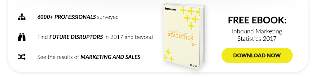 Discover what 6000 professionals had to say about inbound in the Inbound Marketing Statistics 2017 report