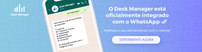Ferramenta de Help Desk e Atendimento integrado com WhatsApp