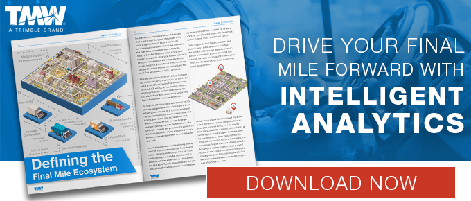 Drive Your Final Mile Forward with Intelligent Analytics