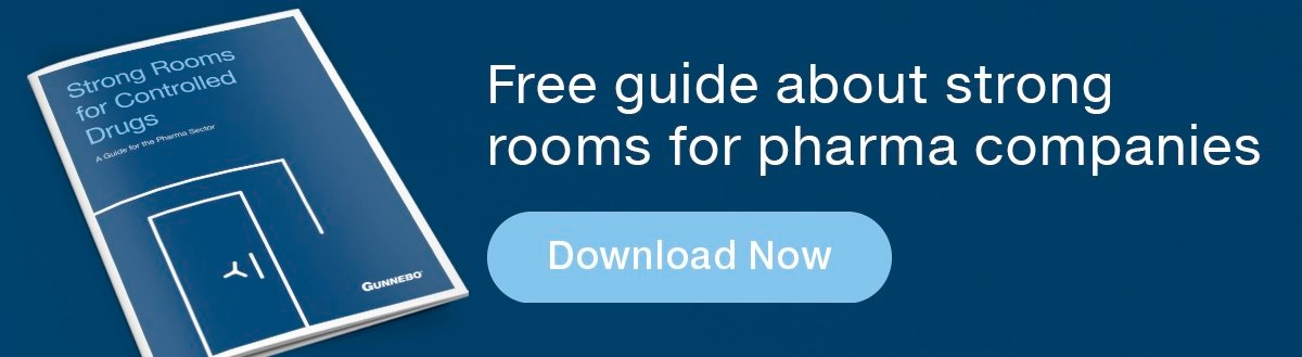Free guide - strong rooms for pharma companies