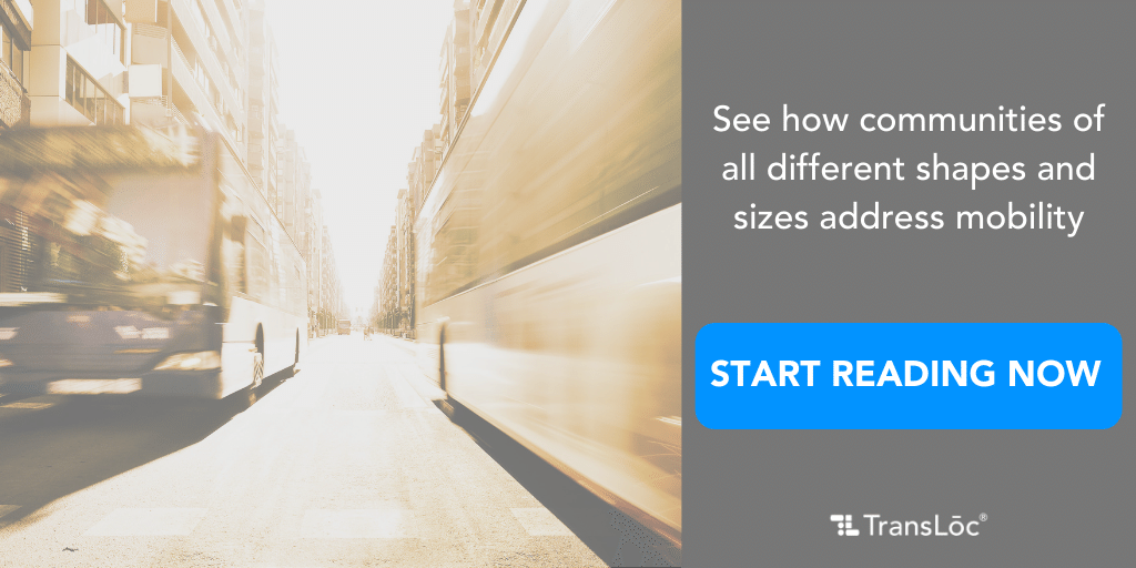 See how communities of all different shapes and sizes address mobility. Start reading now!