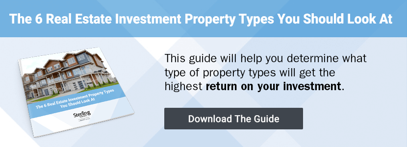 Click to download The 6 Real Estate Investment Property Types You Should Look At
