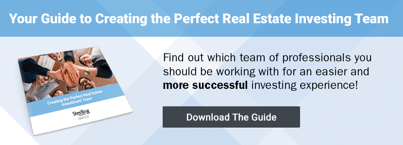 Click to download a copy of Creating the Perfect Real Estate Investment Team