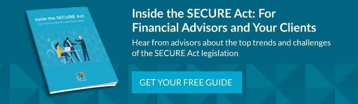 "Download ""Inside the SECURE Act: For Financial Advisors and Your Clients"""