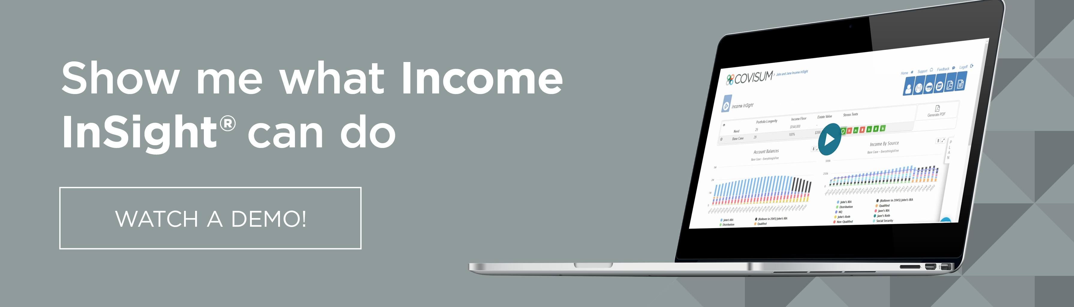 Income InSight demo