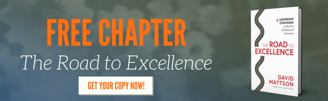 Click Here For Your Free Chapter of The Road to Excellence