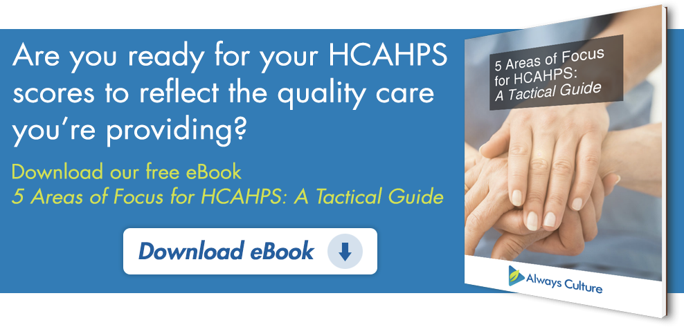 5 Areas of Focus for HCAHPS eBook