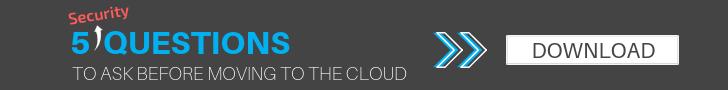 5 Cloud Questions