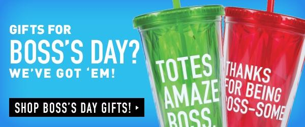 Shop Boss's Day!
