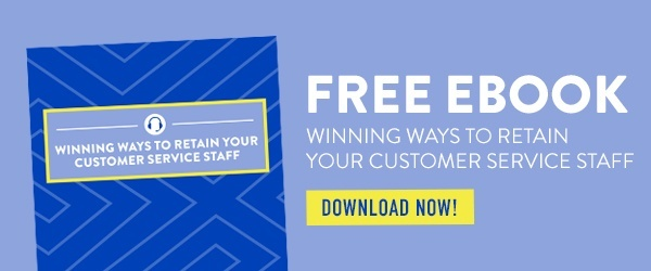 Free eBook: Winning Ways to Retain Your Customer Service Staff