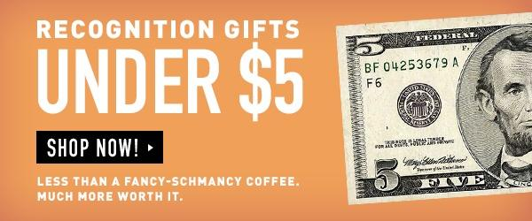 Shop Gifts Under $5