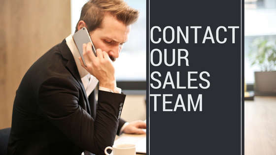 Speak with our Knowledgable Sales Team Today