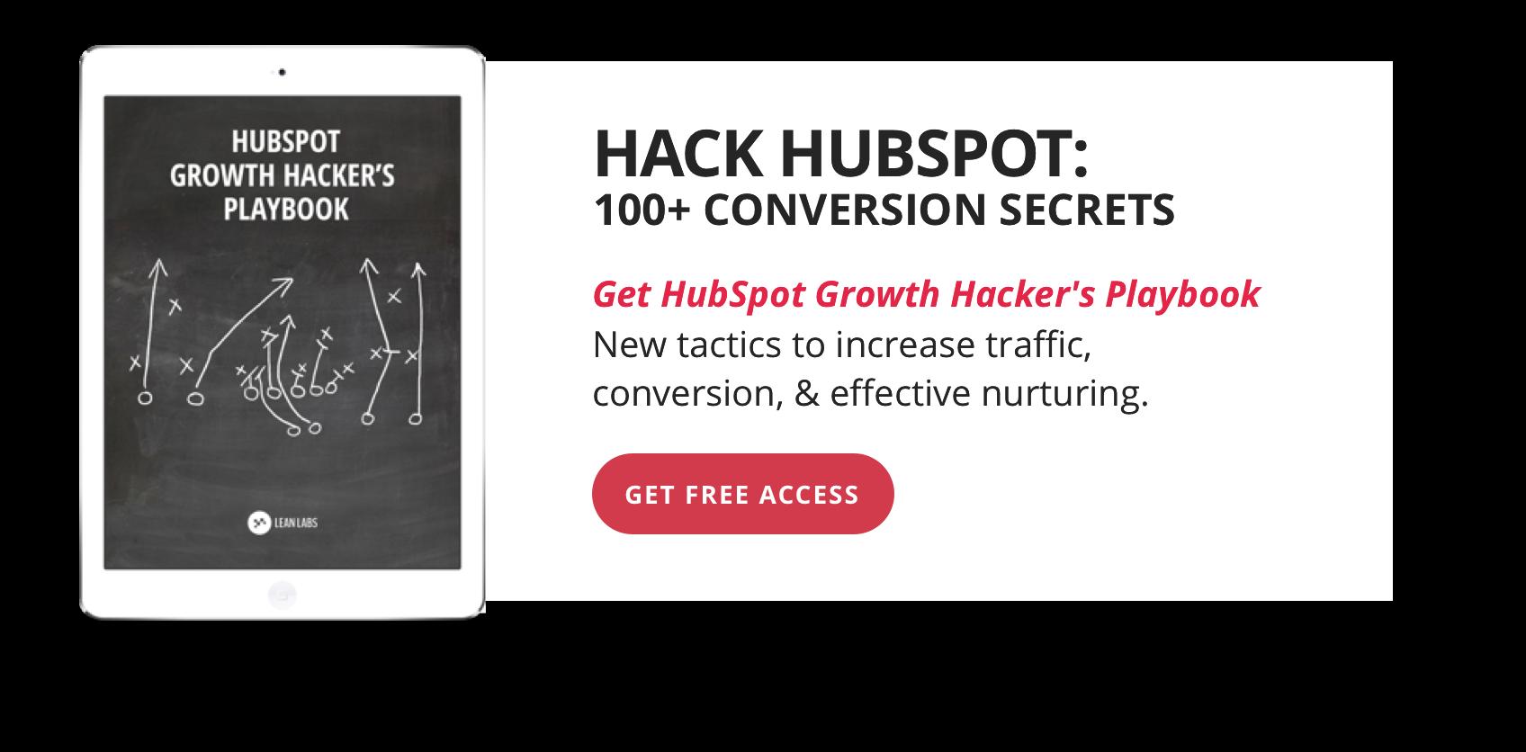 Hack HubSpot