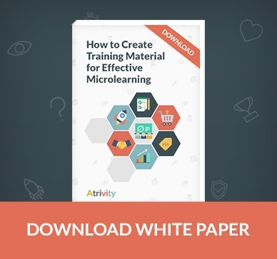 Create training material for effective microlearning