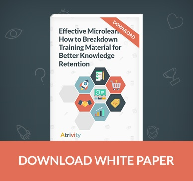 Effective microlearning: how to breakdown training material for knowledge retention