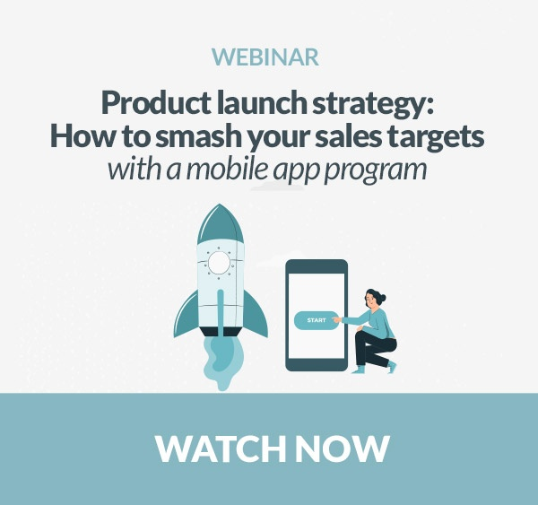 product launch - strategy - sales - mobile app - gamification - HCPs - training