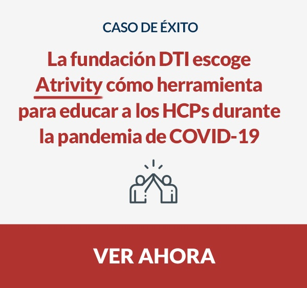 fundación DTI - educar - HCP - pandemia - coronavirus - COVID-19