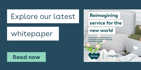 Explore our latest whitepaper - reimagining service for the new world