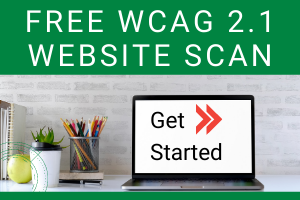 Free WCAG 2.1 Website Scan - Get Started