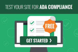 Test you site for ADA Compliance