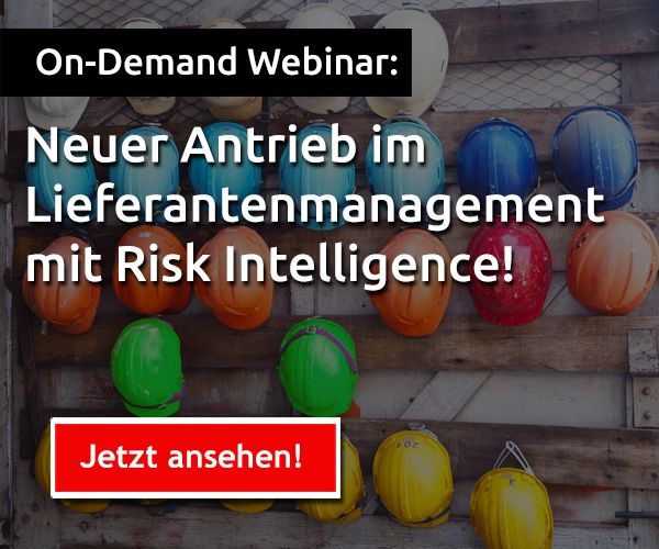 lieferantenmanagement risk intelligence