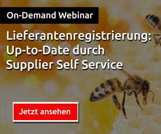 lieferantenregistrierung supplier self service