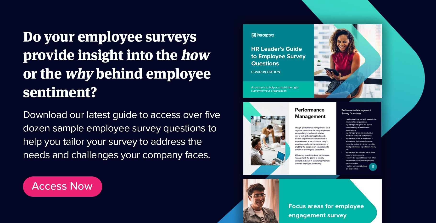 Download the HR Leader's Guide to Employee Survey Questions