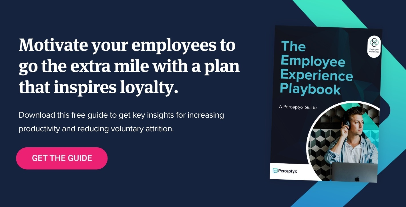 Download Now: The Employee Experience Playbook - Perceptyx