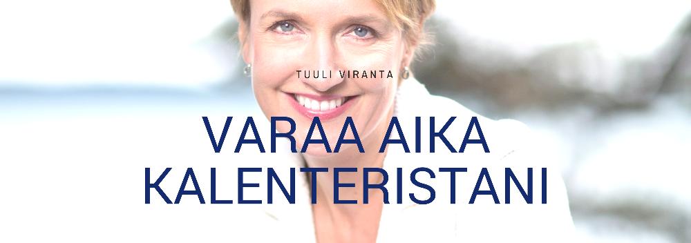 Tuuli Viranta - Varaa aika kalenteristani