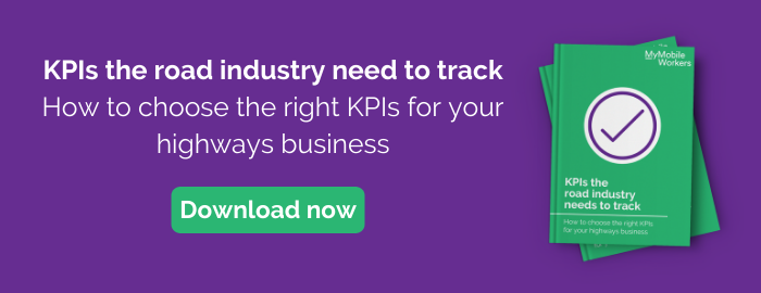 Download our guide: KPIs the road industry need to track