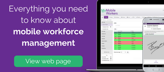 mobile workforce management