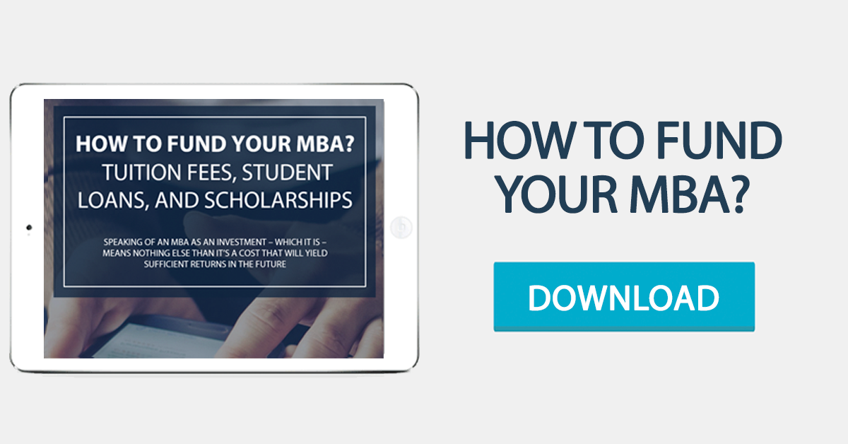 How to fund your MBA?