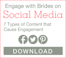 engage with brides on social media