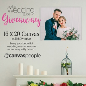 CanvasPeople Giveaway Perfect Wedding Guide