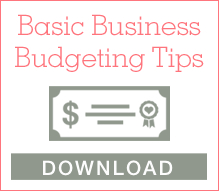 Basic Budgeting Tips for Wedding Professionals