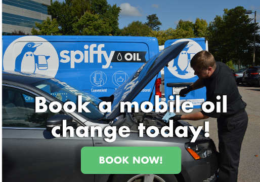 Book a mobile oil change today