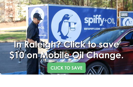 Click to Save on Spiffy Mobile Oil Change