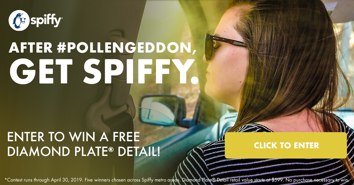Enter to win a Diamond Plate Detail from Spiffy