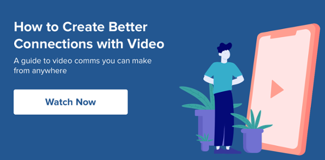 How to create better connections with video webinar