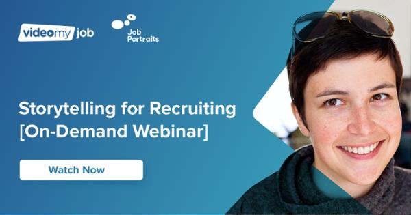 Register for Storytelling for Recruiting webinar