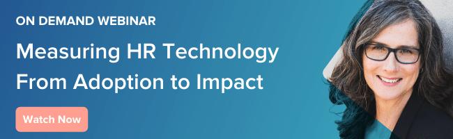 On Demand Webinar HR Tech Measurement