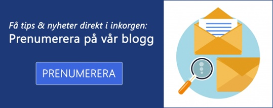Prenumerera på bloggen