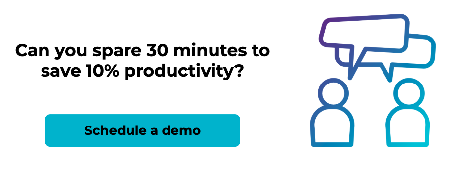 Can you spare 30 minutes to save 10% productivity?