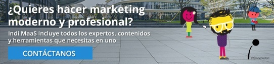 Indi MaaS. Marketing as a Service. Marketing Moderno