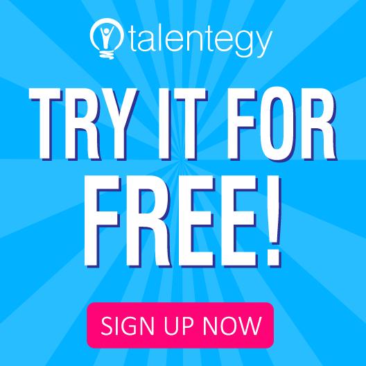 Talentegy Try it for Free
