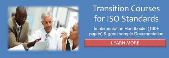 Transition Training for revised ISO Management System Standards