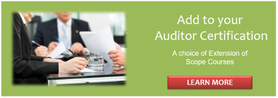 ISO Auditor Extension Courses