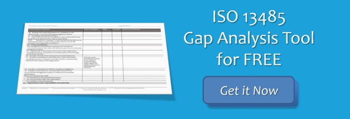 Gap Analysis ISO 13485