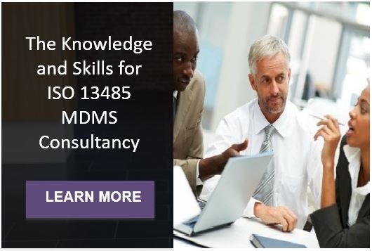 ISO 13485 MDMS Consultancy