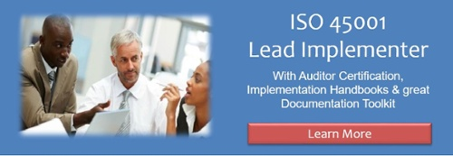 Be an ISO 45001 Lead Implementer